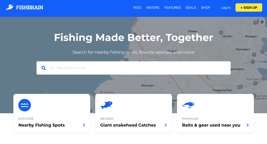 Fishbrain, a Social Network for Fishing Enthusiasts