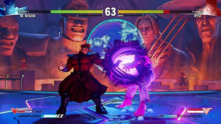 A villainous fight in a Street Fighter V screenshot.